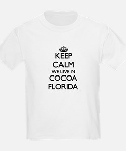 Keep calm we live in Cocoa Florida T-Shirt