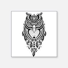 Owl. Ethnic pattern. Sticker