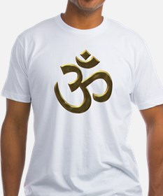 Golden Ohm & Buddha Quote Shirt