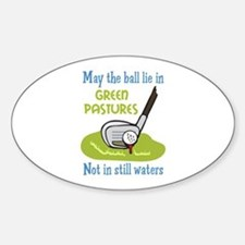 GOLFERS PRAYER Decal