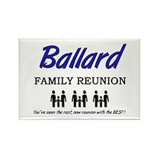 Ballard Family Reunion Rectangle Magnet