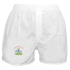 LOVE BEER CART GIRL Boxer Shorts
