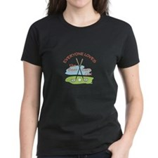 LOVE BEER CART GIRL T-Shirt