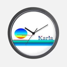 Karla Wall Clock