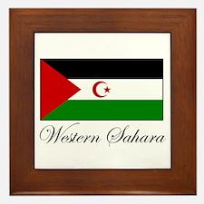 Western Sahara - Flag Framed Tile
