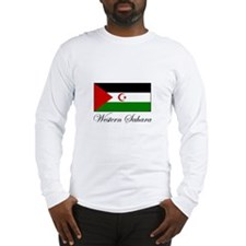 Western Sahara - Flag Long Sleeve T-Shirt