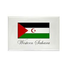 Western Sahara - Flag Rectangle Magnet