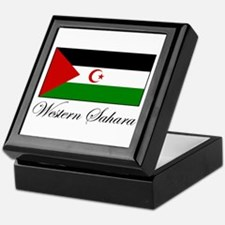Western Sahara - Flag Keepsake Box
