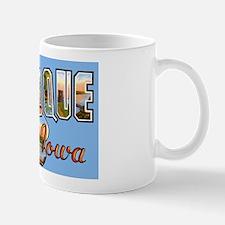 Dubuque Iowa Greetings Mug