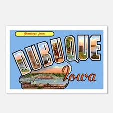 Dubuque Iowa Greetings Postcards (Package of 8)