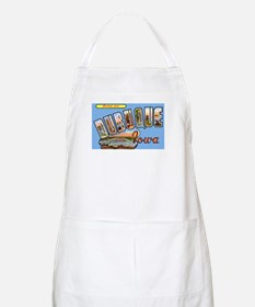 Dubuque Iowa Greetings BBQ Apron