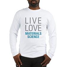 Materials Science Long Sleeve T-Shirt