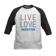 Live Love Mentor Baseball Jersey