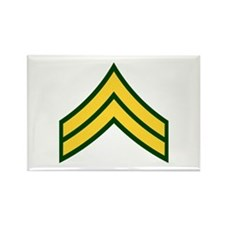 """Army E4 """"Class A's"""" Rectangle Magnet (100 pack)"""