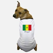 Senegal - Flag - Gambia Dog T-Shirt