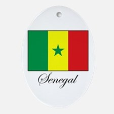 Senegal - Flag - Gambia Oval Ornament