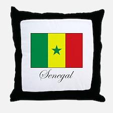 Senegal - Flag - Gambia Throw Pillow