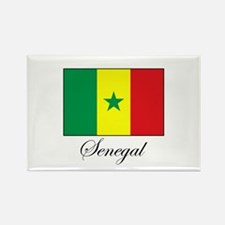 Senegal - Flag - Gambia Rectangle Magnet