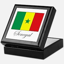 Senegal - Flag - Gambia Keepsake Box