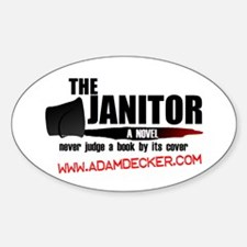 Janitor Oval Decal