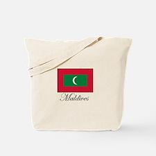 Maldives - Flag - Maldive Isl Tote Bag