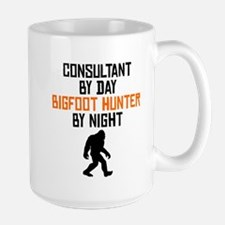 Consultant By Day Bigfoot Hunter By Night Mugs