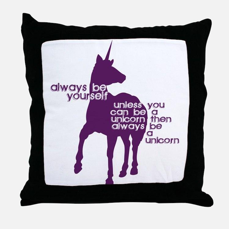 Cute Geeky Throw Pillow