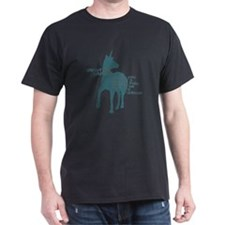 Funny Unicorn be yourself T-Shirt