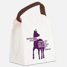 Cool Teen Canvas Lunch Bag