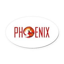PHOENIX Oval Car Magnet