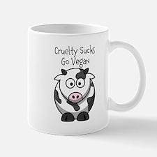 Cruelty Sucks (cow) Mug Mugs