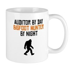 Auditor By Day Bigfoot Hunter By Night Mugs