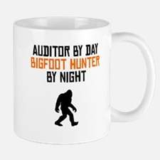 Auditor By Day Bigfoot Hunter By Night Mugs