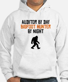 Auditor By Day Bigfoot Hunter By Night Hoodie