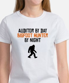 Auditor By Day Bigfoot Hunter By Night T-Shirt