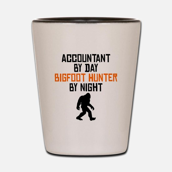 Accountant By Day Bigfoot Hunter By Night Shot Gla