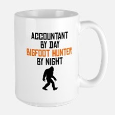 Accountant By Day Bigfoot Hunter By Night Mugs