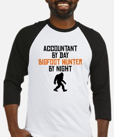 Accountant By Day Bigfoot Hunter By Night Baseball