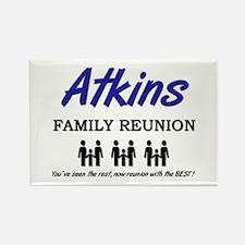 Atkins Family Reunion Rectangle Magnet