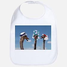 Crazy Hat Day - Ostrich Fashion Bib