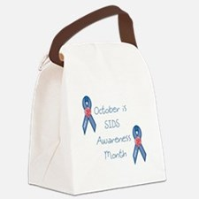 SIDS Awareness Month Canvas Lunch Bag