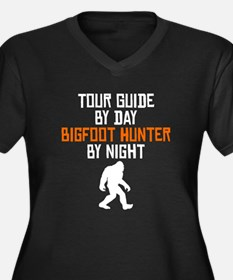 Tour Guide By Day Bigfoot Hunter By Night Plus Siz