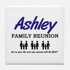 Ashley Family Reunion Tile Coaster