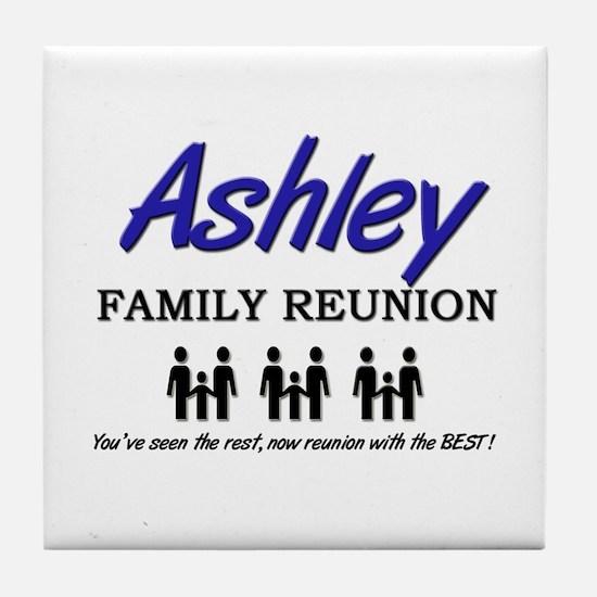Ashley Family Reunion Tile Coaster