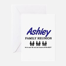Ashley Family Reunion Greeting Cards (Pk of 10