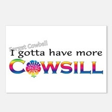 More Cowsill Color Logo Postcards (Package of 8)