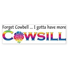More Cowsill Color Logo Bumper Bumper Sticker