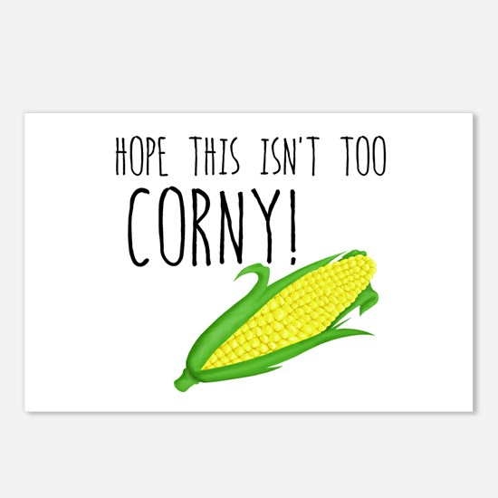 Corny Card Postcards (Package of 8)