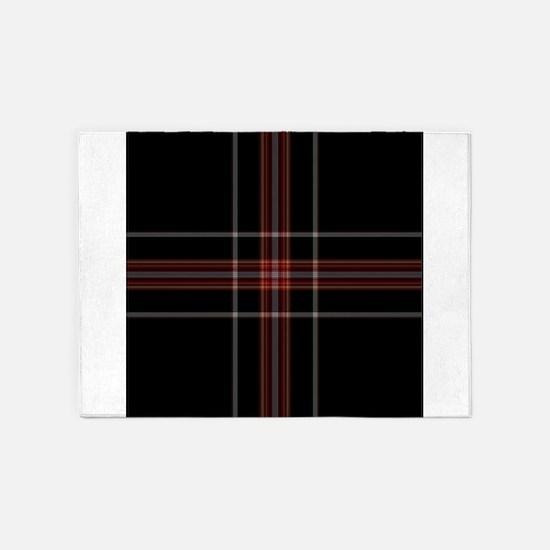 scottish tartan patterns 5'x7'Area Rug