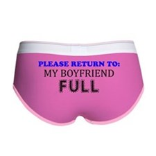 please return to my boyfriend fu Women's Boy Brief